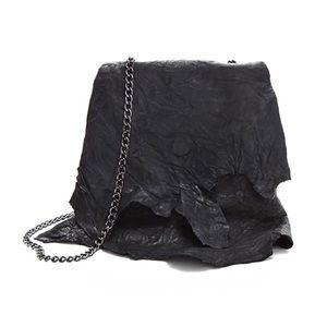 Black CC Skye Mini Shredded Bag